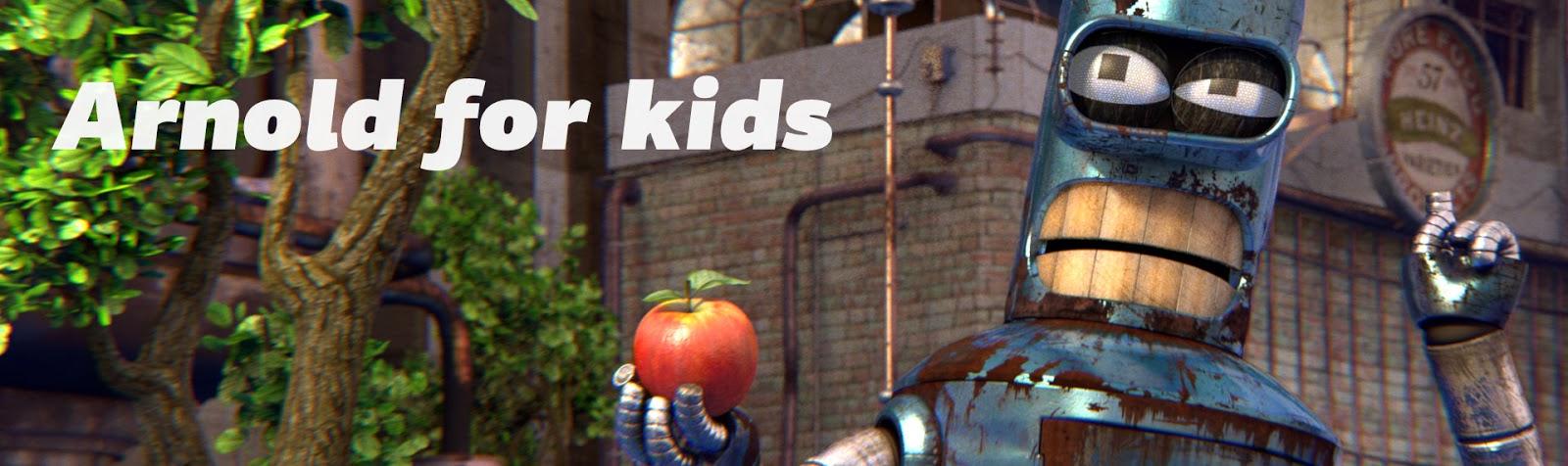 256: Arnold DNA Render KIT