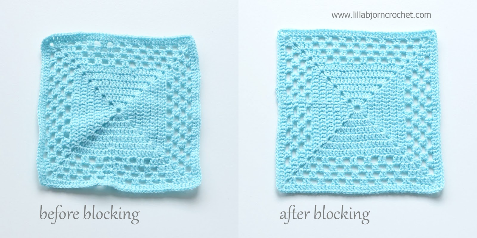 Why And How To Block Crochet And Knitted Projects Lillabjörns