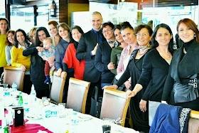 Bursalı  Bloggerler FSM Güllüoğlunda Buluştu