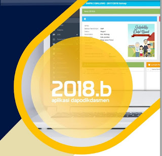 Download Aplikasi Dapodik versi 2018.b