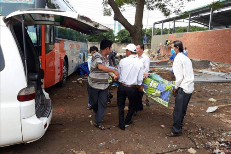 Người đàn ông Quảng Ngãi tử vong trên xe khách khi đi làm thuê
