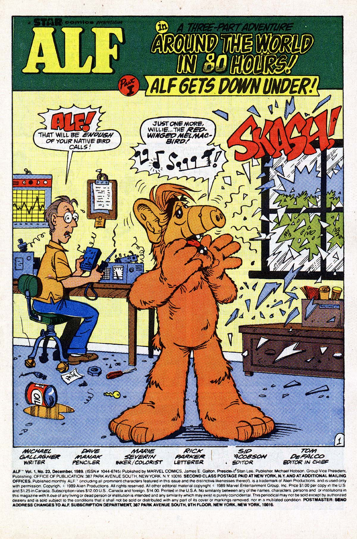 Read online ALF comic -  Issue #23 - 2