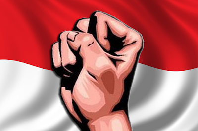 Cara membuat background bendera merah putih di PP Facebook....!!!