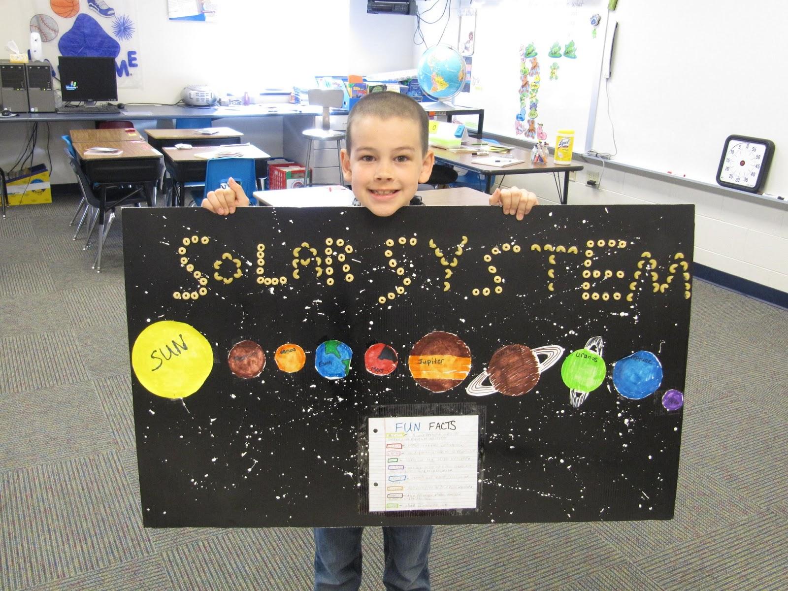 third grade solar system project - photo #25