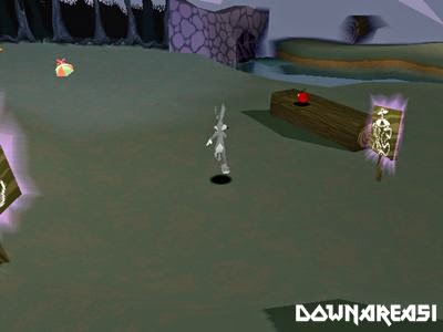 Bugs Bunny Lost in Time PS1 Game