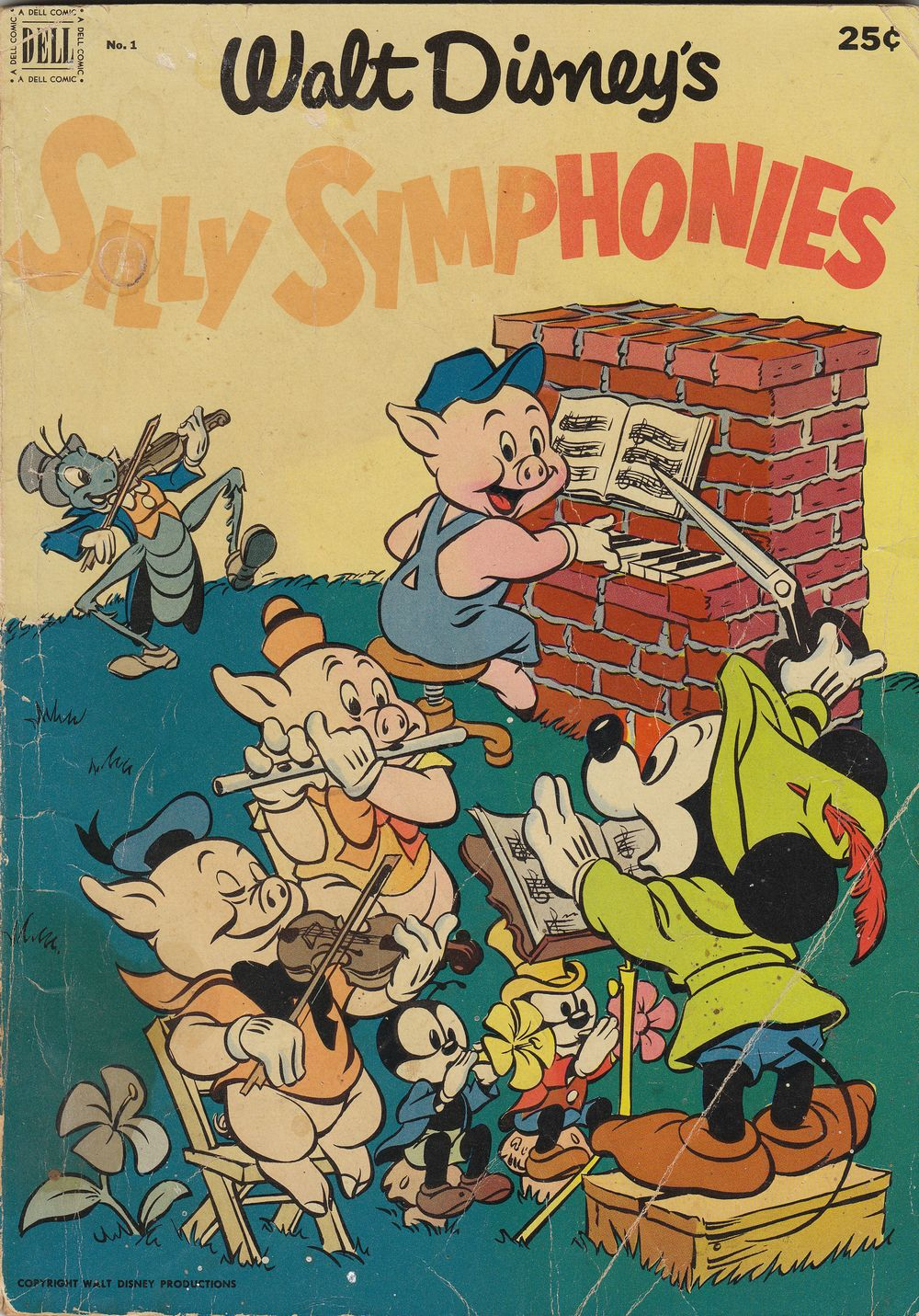 Walt Disney's Silly Symphonies issue 1 - Page 1