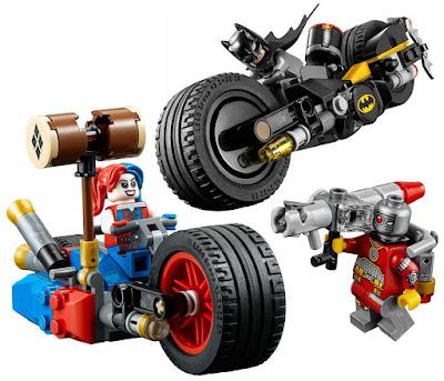 Suicide Squad DC Comics Super Heroes LEGO Set - Batman: Gotham City Cycle Chase