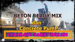 harga beton ready mix untuk cor dak rumah di cikarang barat bekasi