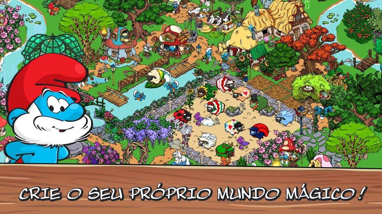 Smurfs Village v 1.98.0 apk mod DINHEIRO / FRUTAS INFINITAS