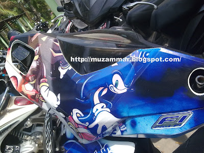 Cutting sticker Honda Beat FI by Muzammar - Berita Otomotif