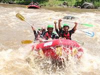 pengalaman rafting di sungai elo magelang Jawa Tengah
