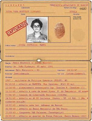 Quem disse que Dilma Rousseff lutou por democracia?