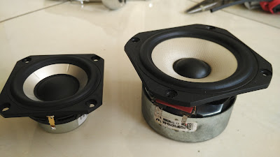 THE ORRONOCO AUDIO DIY: Fullrange Drivers SB65 Vs  Vifa TG9 - Size