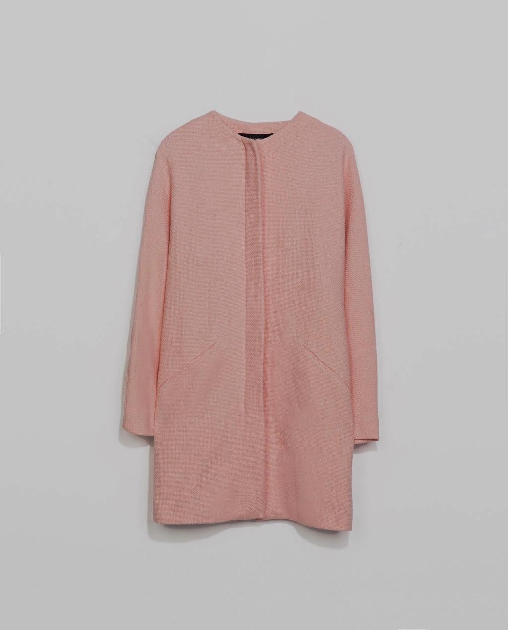 Pink Coat from Zara