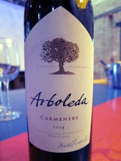 Arboleda Carmenère 2014 (88+ pts)