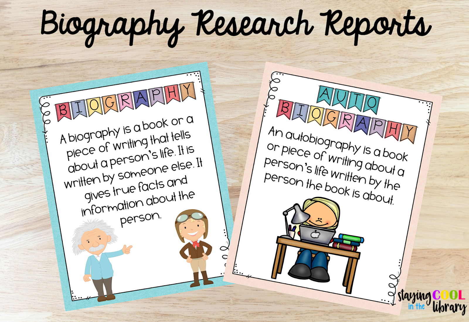 Biography Research Reports