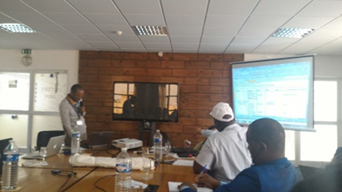 This is the moment in which I presented my Innovation Plan, with reference to the three sites visited. I would like to engage in implementing cadastral mapping in our irrigation schemes in PROSUL, including the zoning of adjacent areas. This would help the producers to better manage both water and land, and furthermore in the payment of taxes related to their water and energy usage. © D. Simango