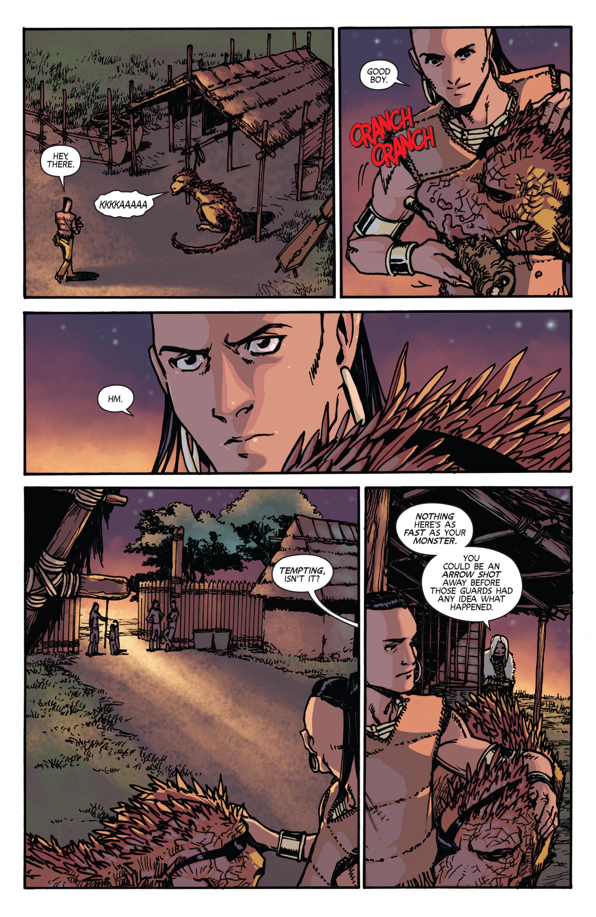 Read online Turok: Dinosaur Hunter (2014) comic -  Issue # _TPB 2 - 46