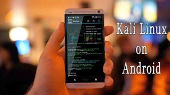 كيفية تثبيت نظام كالي لينكس Kali Linux كاملا بجميع ادواته على هواتف الاندرويد