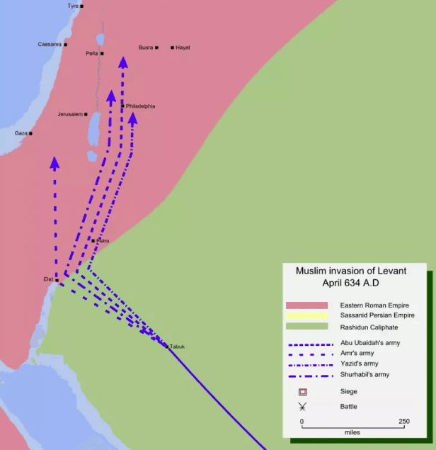 Invasi ke Imperium Romawi Timur