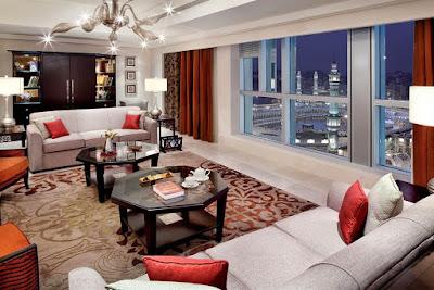 Suite dengan view Ka'bah