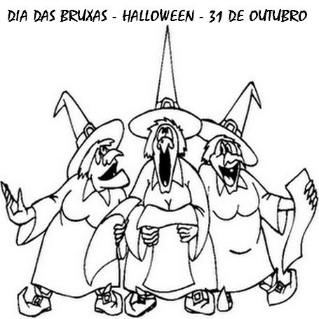 50 Atividades Dia Das Bruxas E Desenhos Colorir Halloween 31 Out