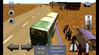 Game Simulasi Bus Android - bus simulator 3D