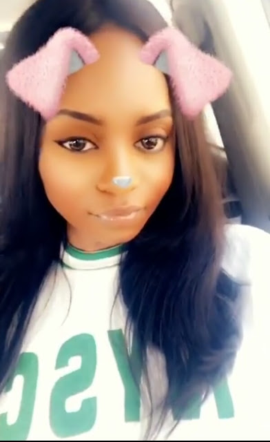 Photos: Kiki Osinbajo all cute in her NYSC crested vest