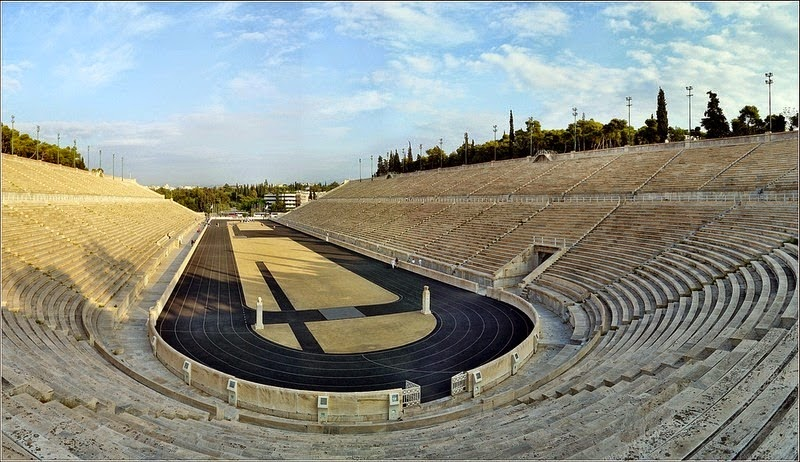 Panathenaic Stadium. The Birthplace of Modern Olympics