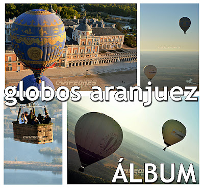 Globos Volar en Aranjuez