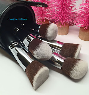 mini precision brush, brush case