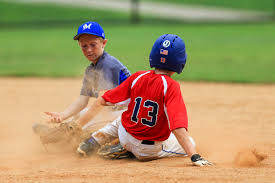 Sliding skills in baseball for children