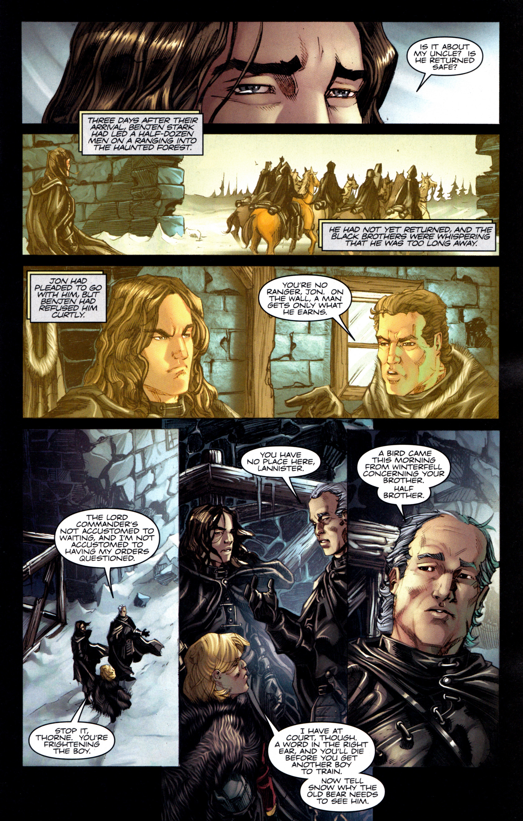 Read online A Game Of Thrones comic -  Issue #6 - 9