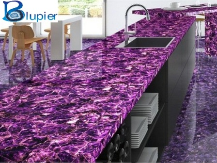 Semi Precious Stone Tiles Counter Tops