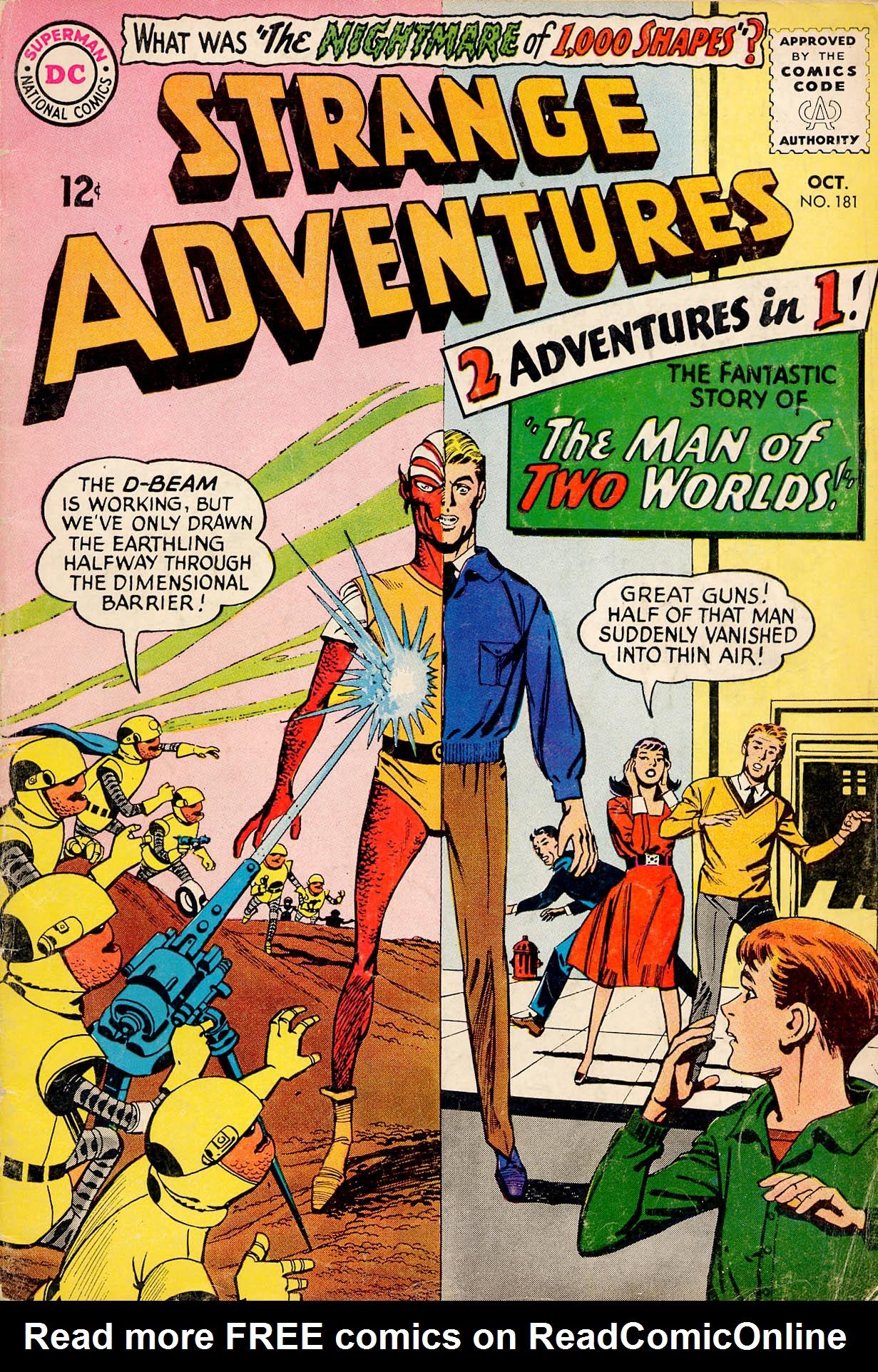 Strange Adventures (1950) issue 181 - Page 1