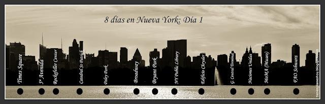 Índice día 1 en Nueva York