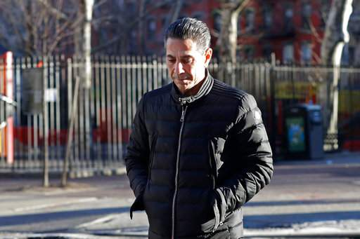 Alleged Philadelphia Cosa Nostra boss Joseph (Skinny Joey) Merlino,