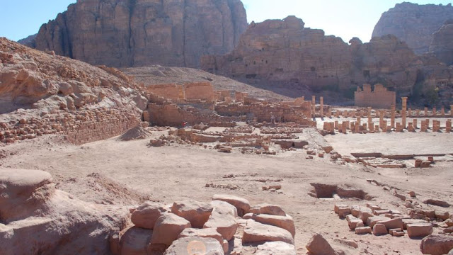 Petra's forgotten gardens uncovered after 2,000 years