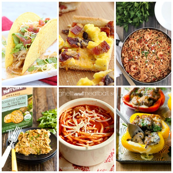 Weekly Meal Plan #48 from Table for Seven