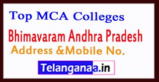 Top MCA Colleges in Bhimavaram Andhra Pradesh