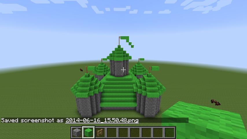 Bekend Parkkyra - Minecraft: Stap voor stap maken l Minecraft kasteel &MA11
