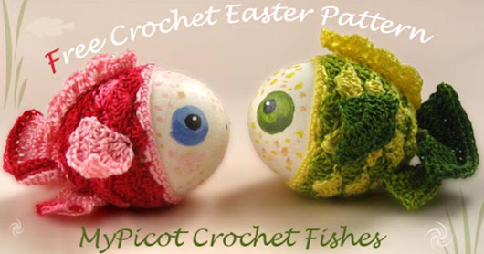 Easter Crochet Fishes