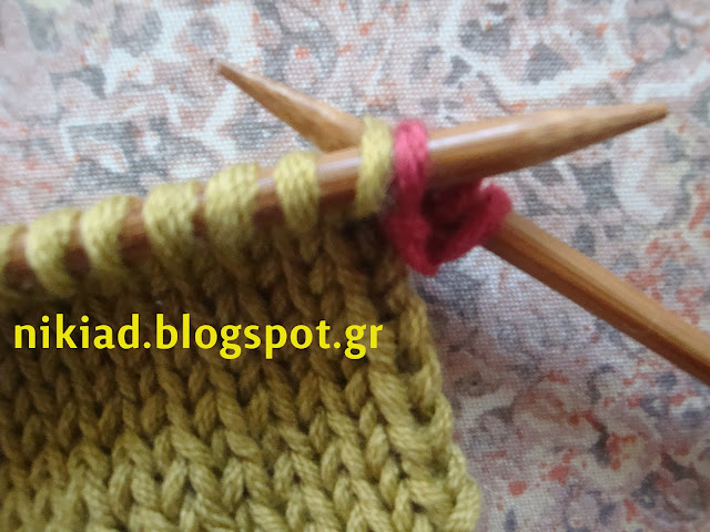 Knit 2 Stitches Together Through Back Loop : ??????????????: ??????? ???????? ??? ?????? / I-Cord Bind Off : how to create...