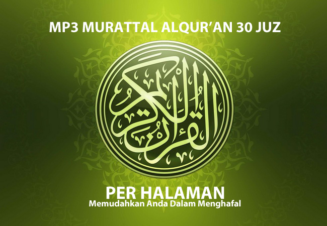 Download MP3 Murottal Alquran 30 Juz per Halaman