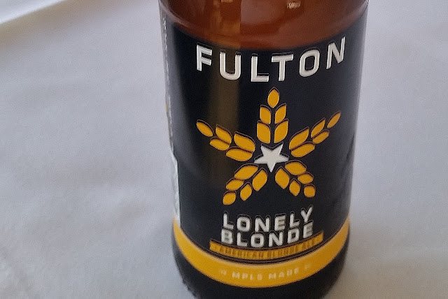 beer bottle, close-up - Fulton Lonely Blonde