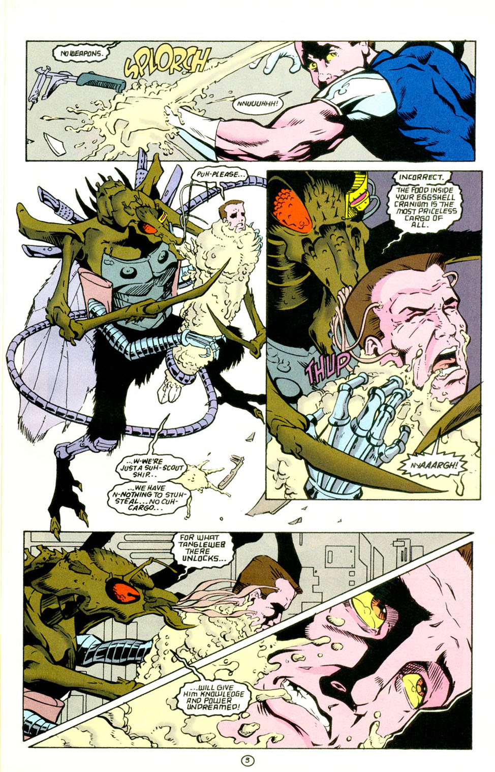 Legion of Super-Heroes (1989) 67 Page 3
