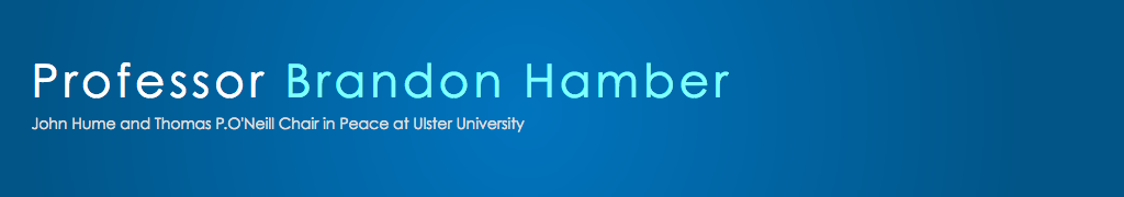 Professor Brandon Hamber Blog