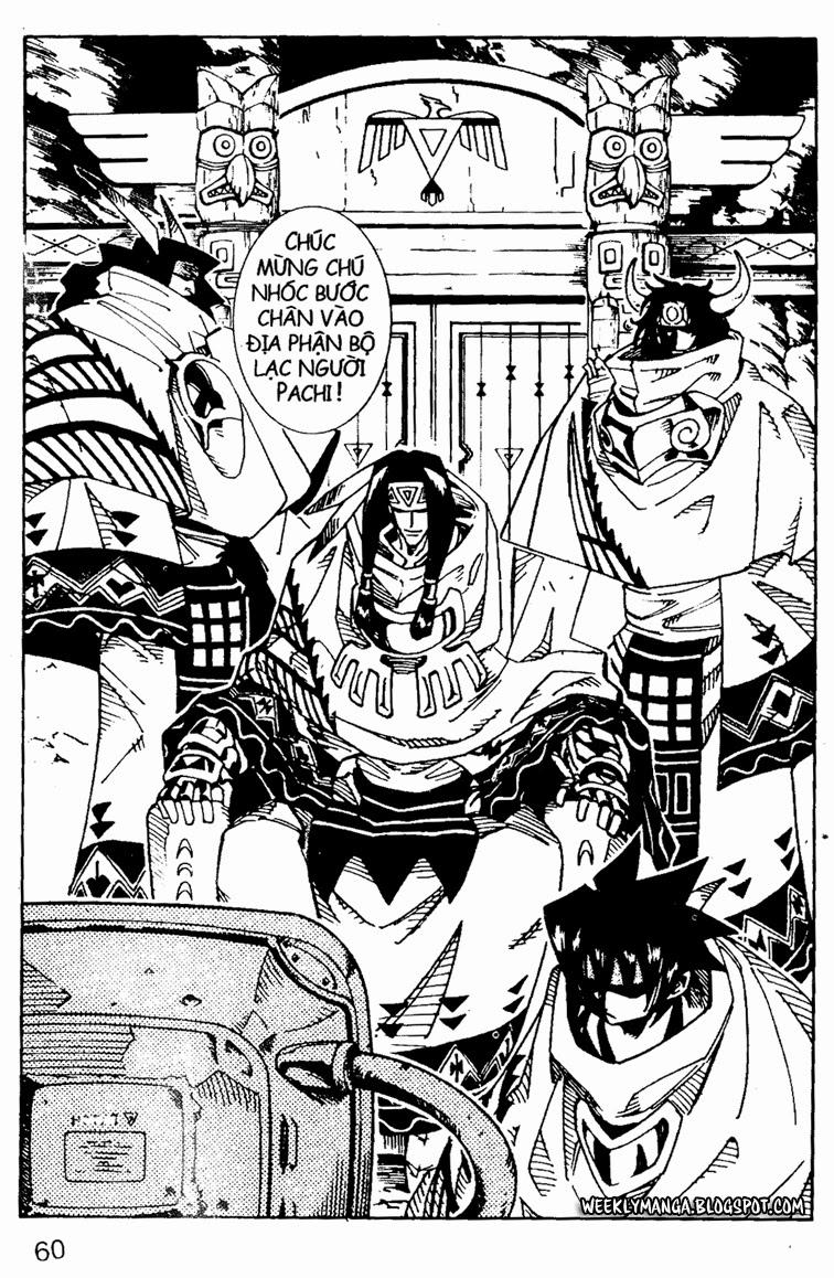 Shaman King [Vua pháp thuật] chap 107 trang 2