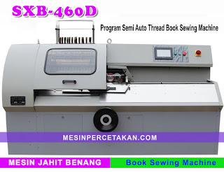 SXB-460D Program Semi Auto Thread Book Sewing Machine