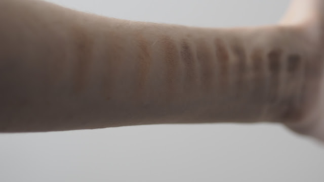 rimmel nudes eyeshadows
